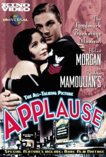 Applause 1929 poster