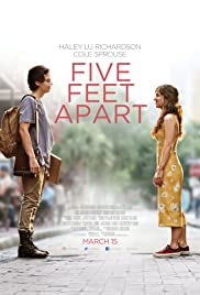 Five Feet Apart (2019) cover