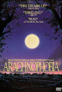 Arachnophobia (1990) cover