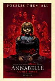 Annabelle Comes Home (2019) cover
