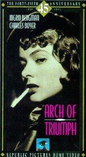 Arch of Triumph (1948) cover