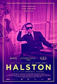 Halston 2019 poster
