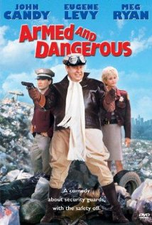 Armed and Dangerous (1986) cover