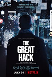 The Great Hack 2019 poster