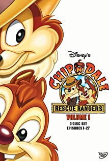 Chip 'n' Dale Rescue Rangers 1989 poster