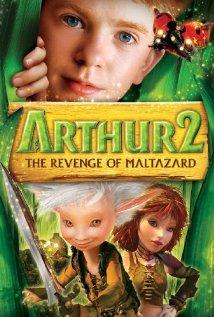 Arthur et la vengeance de Maltazard (2009) cover