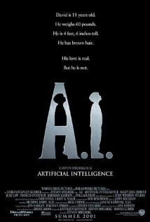 Artificial Intelligence: AI 2001 poster