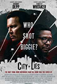 City of Lies 2018 poster