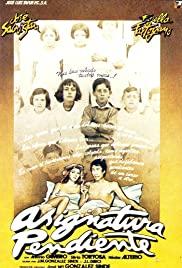 Asignatura pendiente (1977) cover