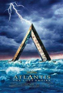 Atlantis: The Lost Empire (2001) cover