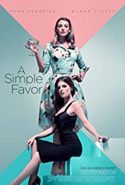 A Simple Favor (2018) cover