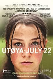 Utøya 22. juli (2018) cover