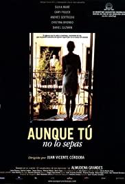 Aunque tú no lo sepas (2000) cover