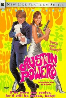 Austin Powers: International Man of Mystery (1997) cover