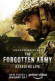 The Forgotten Army - Azaadi ke liye (2020) cover