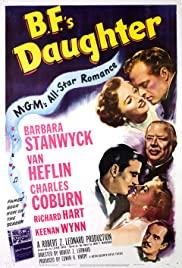 B.F.'s Daughter 1948 poster