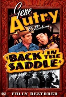 Back in the Saddle (1941) cover