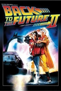 Back to the Future Part II (1989) cover