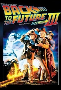 Back to the Future Part III (1990) cover