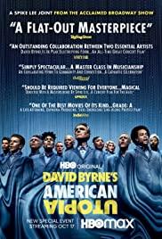 American Utopia 2020 poster