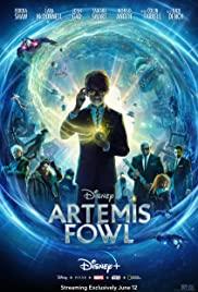 Artemis Fowl (2020) cover