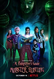 A Babysitter's Guide to Monster Hunting 2020 poster
