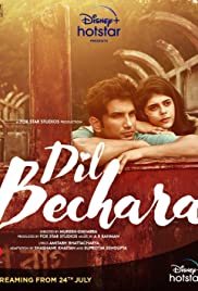 Dil Bechara (2020) cover