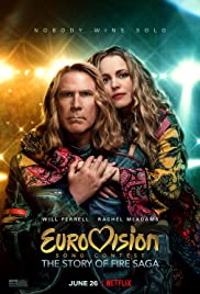 Eurovision Song Contest: The Story of Fire Saga 2020 poster