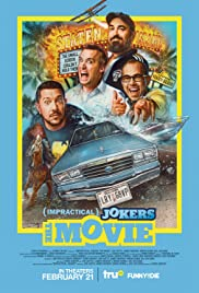 Impractical Jokers: The Movie (2020) cover