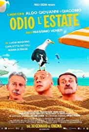 Odio l'estate (2020) cover