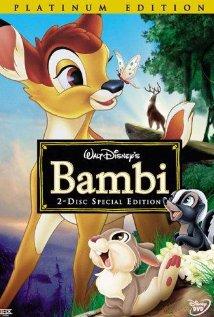 Bambi (1942) cover