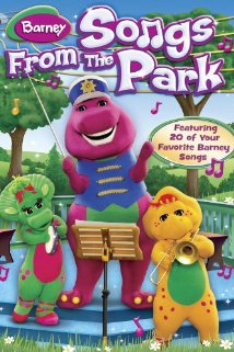 Barney Songs from the Park (2003) cover