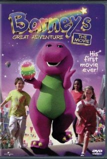 Barney's Great Adventure (1998) cover