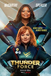 Thunder Force (2021) cover