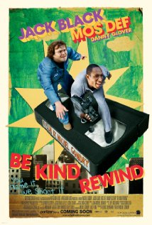 Be Kind Rewind 2008 poster