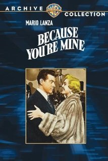 Because You're Mine (1952) cover