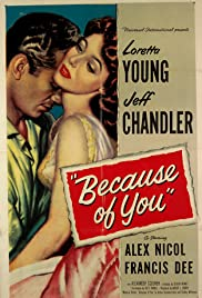 Because of You (1952) cover
