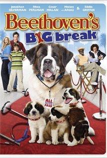 Beethoven's Big Break (2008) cover