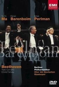 Beethoven: Triple Concerto/Choral Fantasy (2003) cover