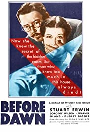 Before Dawn (1933) cover