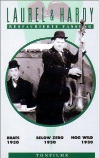Below Zero (1930) cover