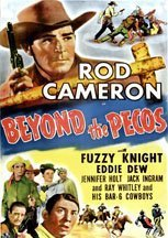 Beyond the Pecos (1945) cover