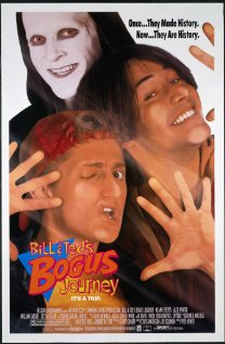 Bill & Ted's Bogus Journey (1991) cover