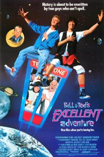 Bill & Ted's Excellent Adventure (1989) cover
