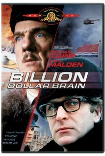 Billion Dollar Brain (1967) cover