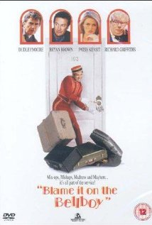 Blame It on the Bellboy (1992) cover