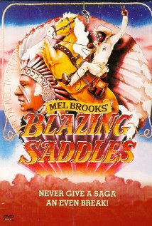 Blazing Saddles (1974) cover
