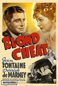 Blond Cheat (1938) cover