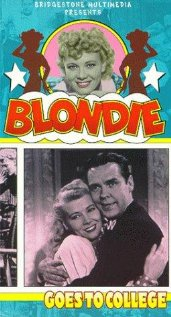 Blondie Goes to College (1942) cover