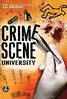 Crime Scene University 2008 poster